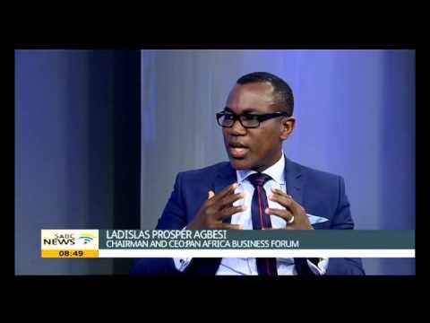 Agbesi on Pan African Business Forum