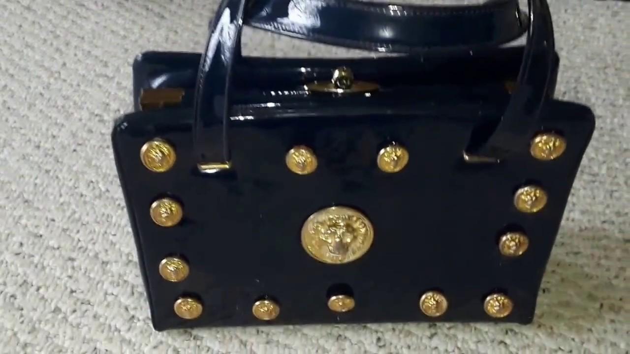 9332f5cfda DIY Gianni Versace Medusa Inspired Bag - YouTube