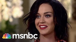 Katy Perry Interview: Super Bowl Halftime   msnbc