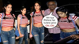 Boney Kapoor FIGHTS With Sridevi's Daughter Jhanvi Kapoor For Wearing Short Dress In Public