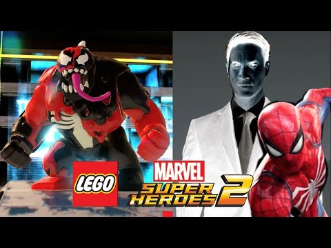 LEGO Marvel Super HEROES 2 Novo CARNOM, Spider PS4, Marvel VS Capcom E MAIS NOVIDADES!!!