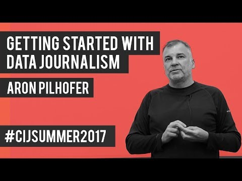 #CIJSummer 2017: Aron Pilhofer. Getting Started with Data Jo