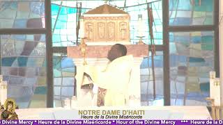 Heure de la Divine Miséricorde * Hour of the Divine Mercy 03-01-2021