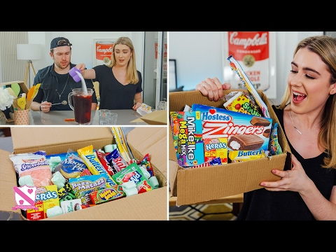 Thumbnail: British People Trying American Candy - In The Kitchen With Kate