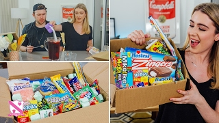 British People Trying American Candy - In The Kitchen With Kate