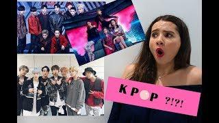NON K-POP REACTION TO BLACKPINK, BTS, EXO!!!