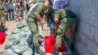 Захоронение павших воинов на 35 береговой батарее