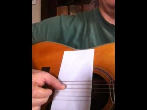Lesson 3 easy Travis picking John prine style C chord