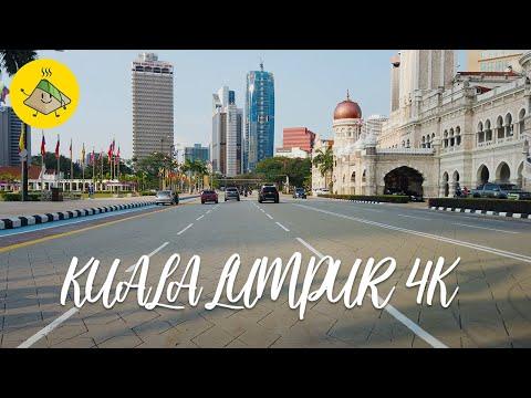 Kuala Lumpur 4k - Driving in the Capital City of Malaysia