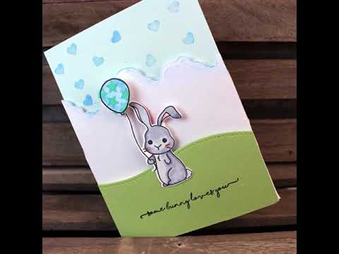 Makers Movement Some Bunny Loves You Stamp & Die Set