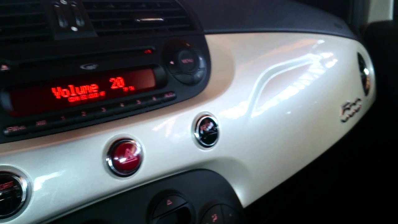 Abarth Interscope audio BOSE speakers