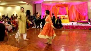 THE BEST PITHI DANCE EVER! (3 OF 3) FARIHA & MALIK'S WEDDING!