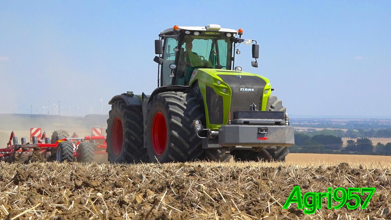 new claas xerion 5000 trac vc - mercedes-benz motor