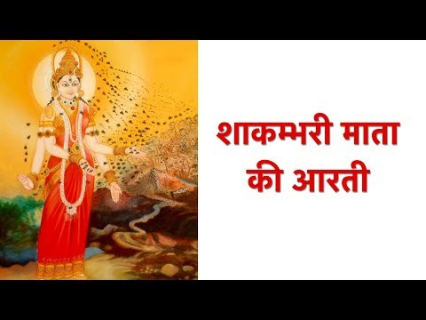 शाकम्भरी माता की आरती | Shakambhari Mata Ki Aarti | शाकम्भरी अम्बे की आरती