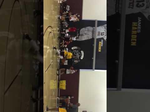 ASU basketball team workout