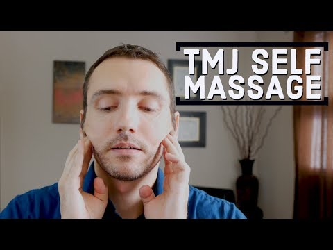 Self Massage For Tmj Jaw Pain Myofascial Release Youtube