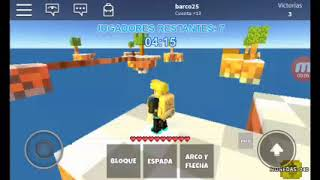 I'm playing skybors in roblox