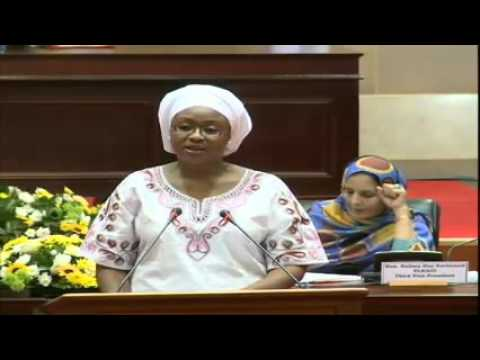 Human Rights with a particular focus on the rights of the Woman-Fatima Singhateh 04-May-2016 Part 1