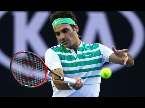 Roger Federer v Nikolaz Basilashvili highlights (1R) | Australian Open 2016