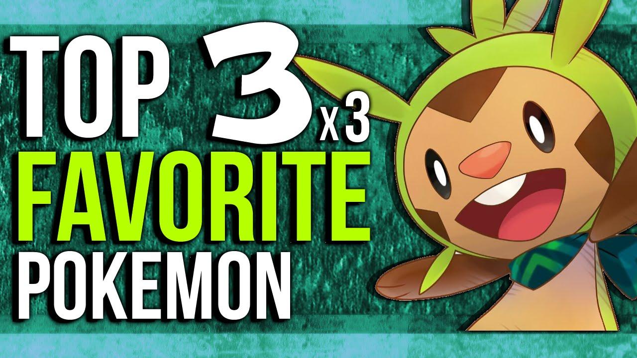 Top 3 Favorite Pokemon Chipmunk Gaming 3x3 S Youtube