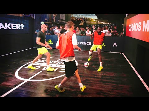 check out ddc8a ef1fe INSANE ADIDAS FOOTBALL PANNA EVENT  more SKILLS  more POINTS!   Footballskills98