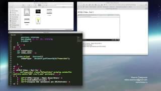 Видеоурок׃ HTML5 Video  Создание плейлиста и логотипа