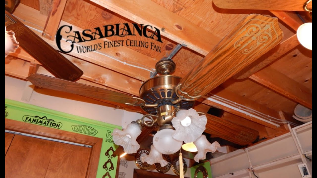 Casablanca Zephyr Ceiling Fan 1080p Hd Remake Youtube