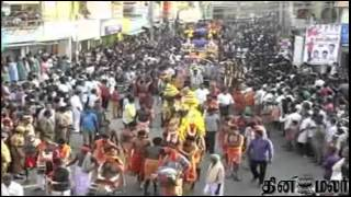Hundreds of Kavadi from Kanyakumari to Thiruchendur - Dinamalar Feb 24th News