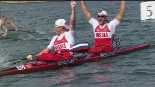 Full Replay - Russian Fed. Win Canoe Sprint Kayak 200m Gold - London 2012 Olympics