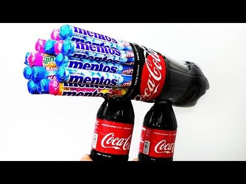 8 AWESOME COCA COLA TRICKS!