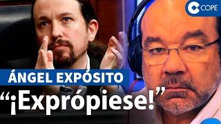 Expósito, sobre la 'revolusión bolivariana' de Iglesias