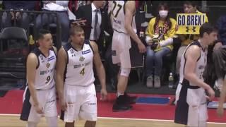 アルバルク東京vs栃木ブレックス|B.LEAGUE第10節GAME1Highlights|03.05.2017 プロバスケ (Bリーグ)