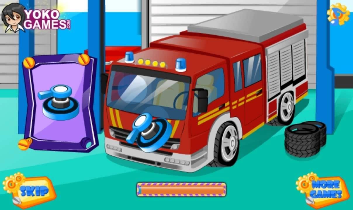 emergency car wash games for kids full