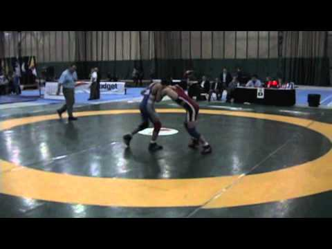 2009 Junior National Championships: 50 kg JF Godin vs. Steven Takahashi