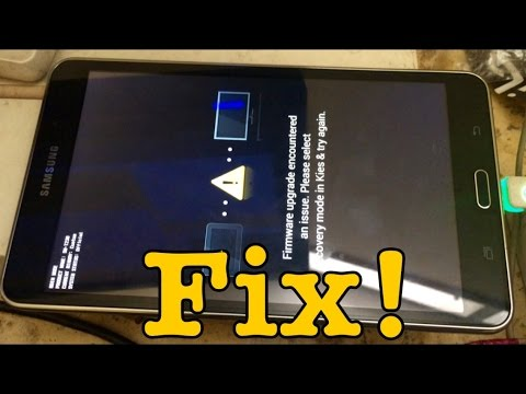 How to Fix Firmware Upgrade Encountered an Issue without Kies