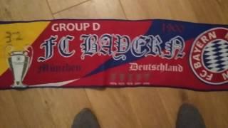 Билеты на лигу чемпионов и шарфы  обзор