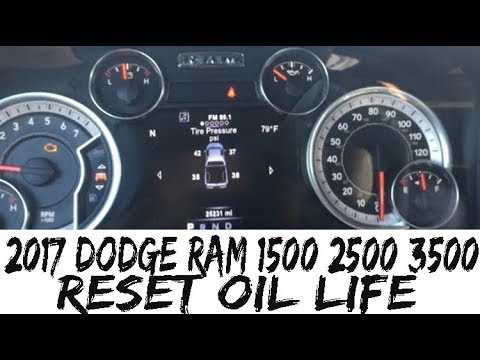 ram 2500 oil change 6.4