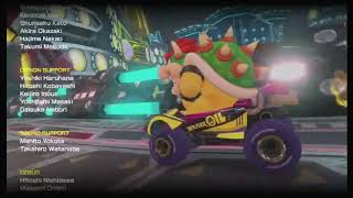 Creditos de Mario Kart 8 Deluxe