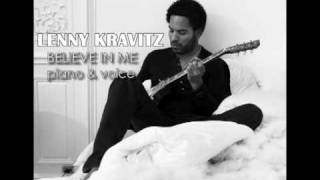 Lenny Kravitz - Believe In Me (Piano & Voice)