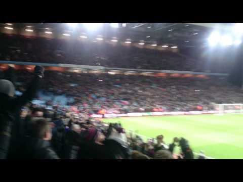 Benteke's penalty sends Aston Villa fans mental