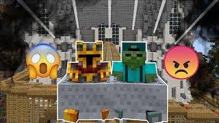 DANGEROUS ROLLER COASTER RIDES WITH MARK MY FRIENDLY ZOMBIE IN MINECRAFT !! Minecraft Mods