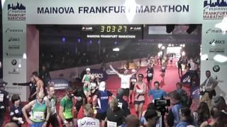 Frankfurt Marathon 2016 Finish