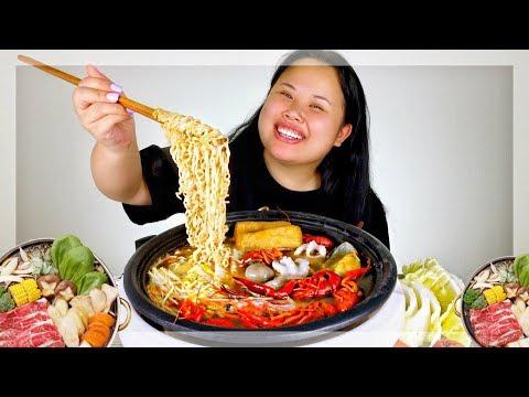 HOT POT MUKBANG 먹방 (EATING SHOW!) 🔥