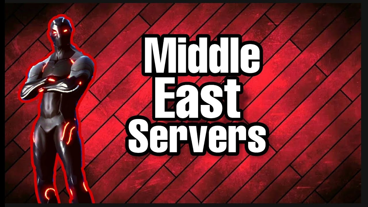 Fortnite Middle East Servers Are Coming According To Leak