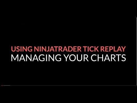 Using NinjaTrader Tick Replay With ZoneTraderPro