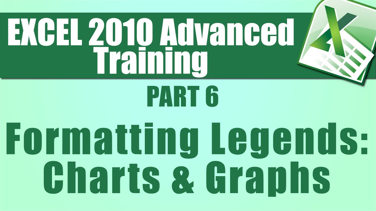 Microsoft excel tutorial advanced part detailed formatting for charts and graphs using also rh youtube