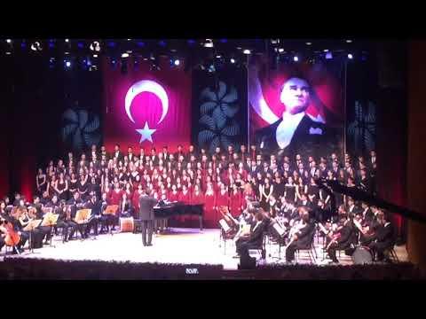 Kızılcıklar Oldu Mu - Trt İstanbul Radyosu Çoksesli Müzik Gençlik Korosu 20/05/2018