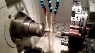 Изготовление деталей на прутковом автомате. Видео. Смотреть(, 2015-04-08T14:42:14.000Z)