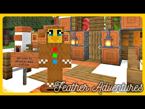 Feather Adventures : THE GINGERBREAD COTTAGE - {289}