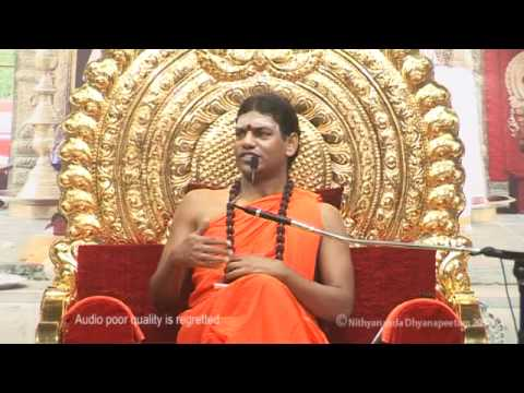 Heal Your Mental Scars To Redesign Your Life: Nithyananda Morning Message (27 Oct 2010)